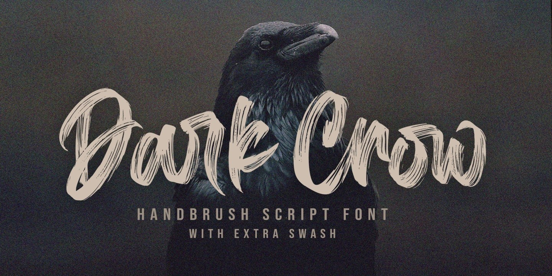 Dark-Crow-Brush-Script-Font-1