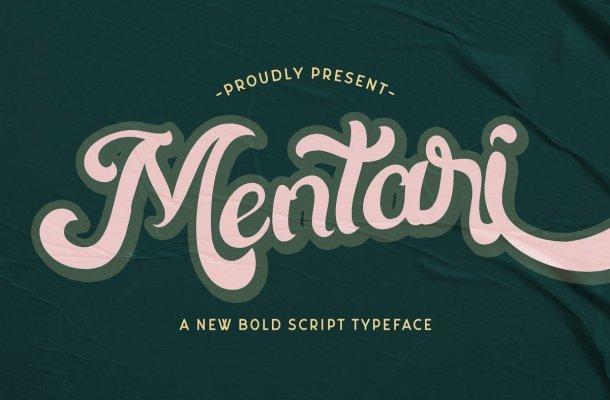Mentari-Bold-Script-Rerto-Font-1