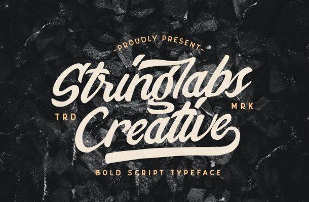 Stringlabs Creative Bold Script Font