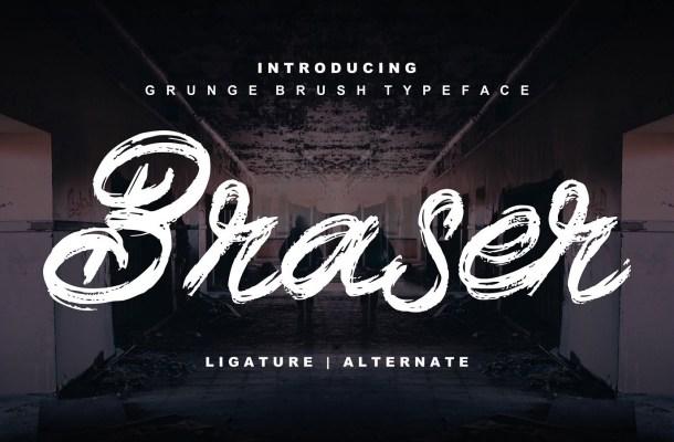 Braser Brush Script Font