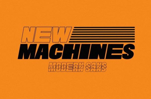 New Machines Sans Display Font