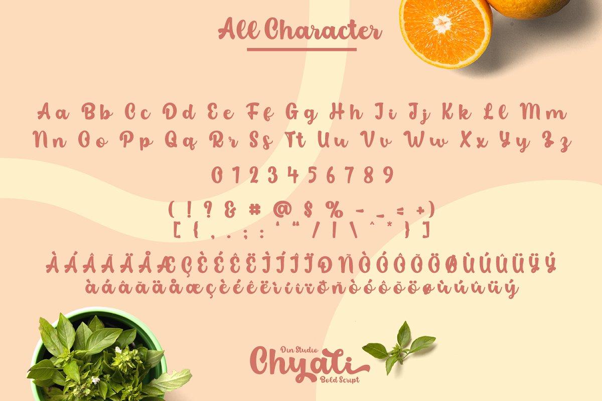 Chyali-Bold-Script-Font-4
