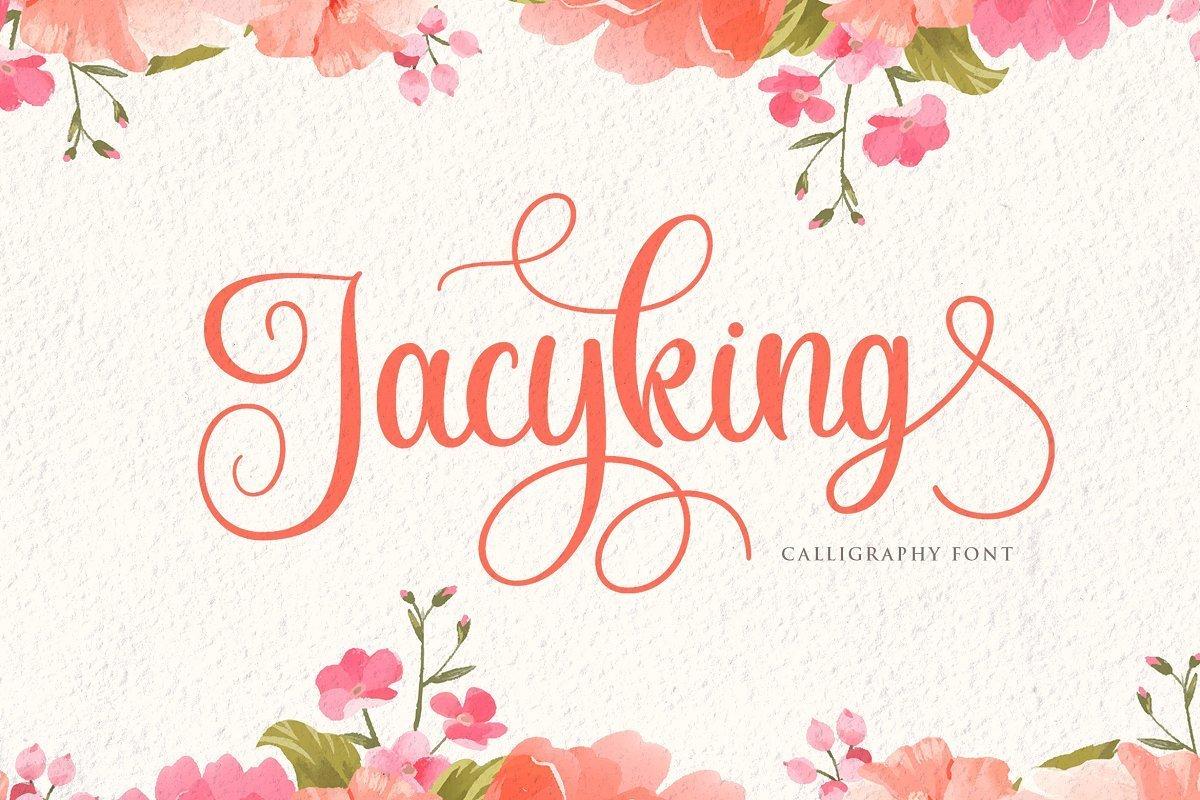 Jacyking-Lovely-Calligraphy-Script-Font-1