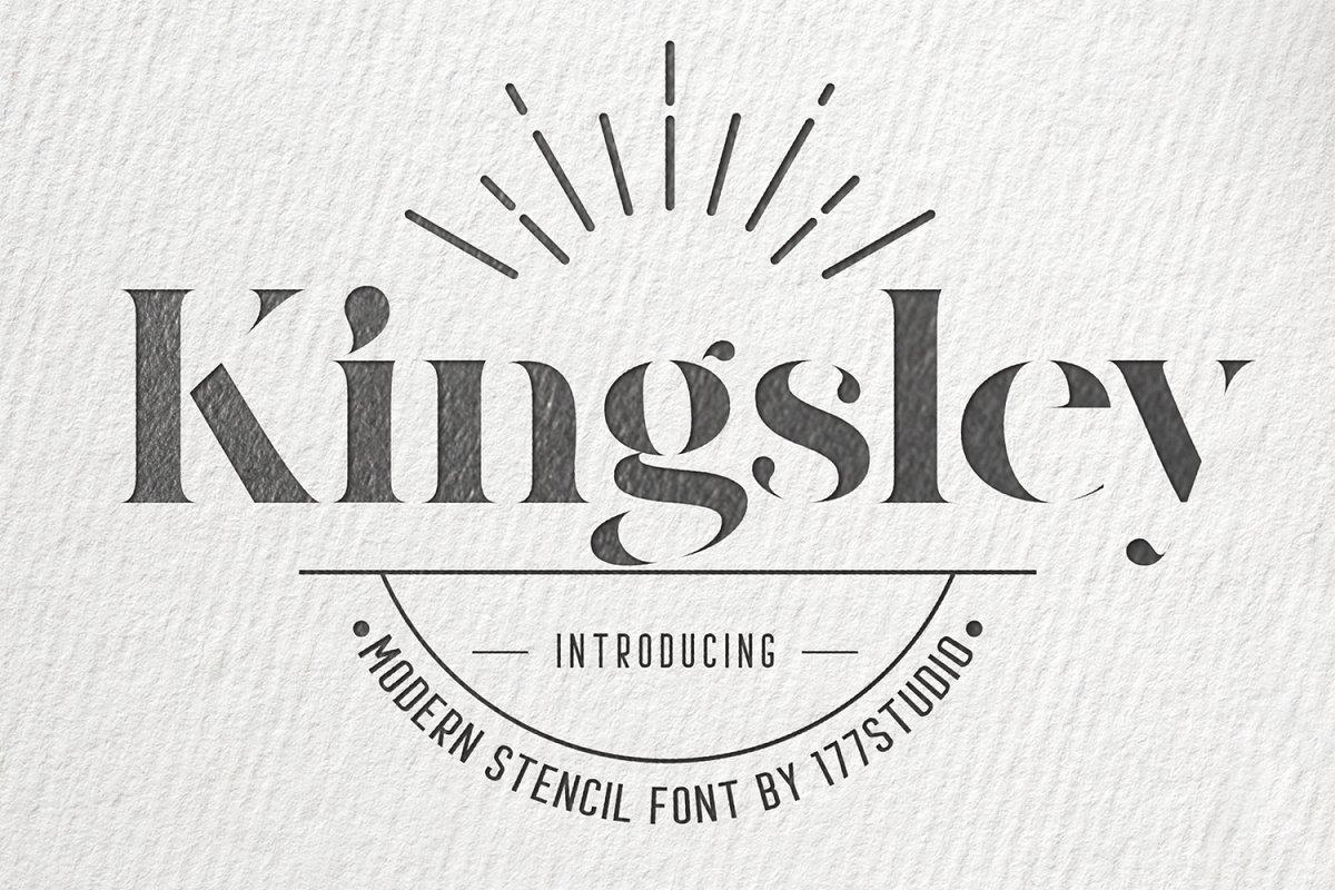 Kingsley-Modern-Serif-Stencil-Font-1