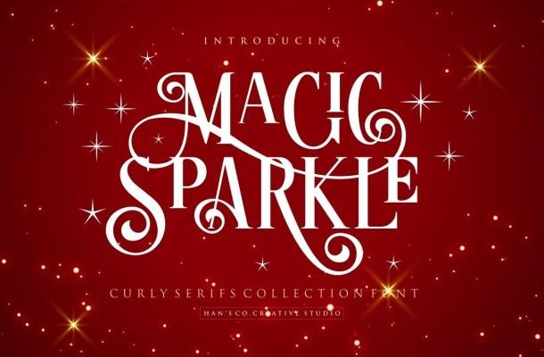 Magic Sparkle Serif Font