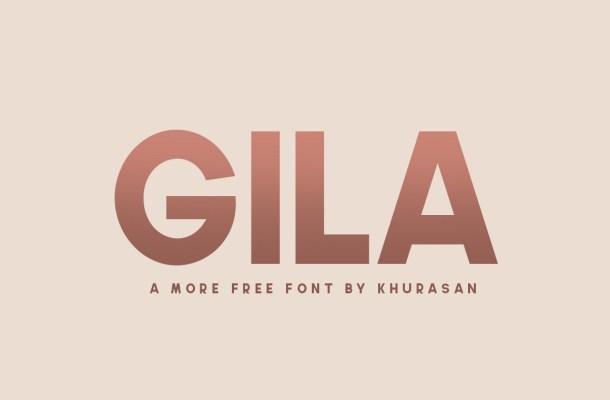 Gila Bold Sans Serif Font Family