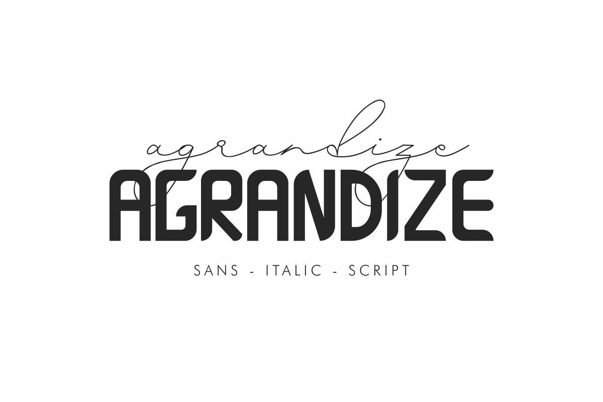 Agrandize-Font-Duo