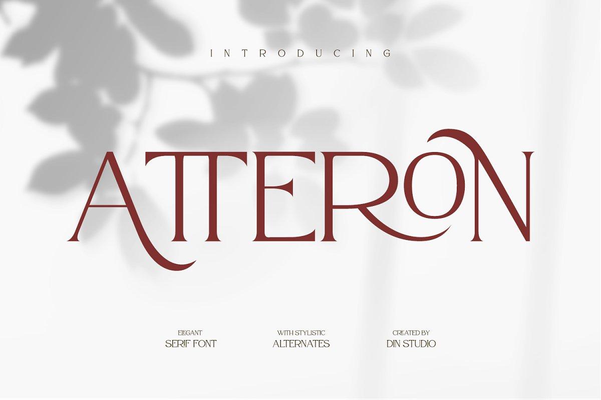 Atteron-Elegant-Serif-Typeface