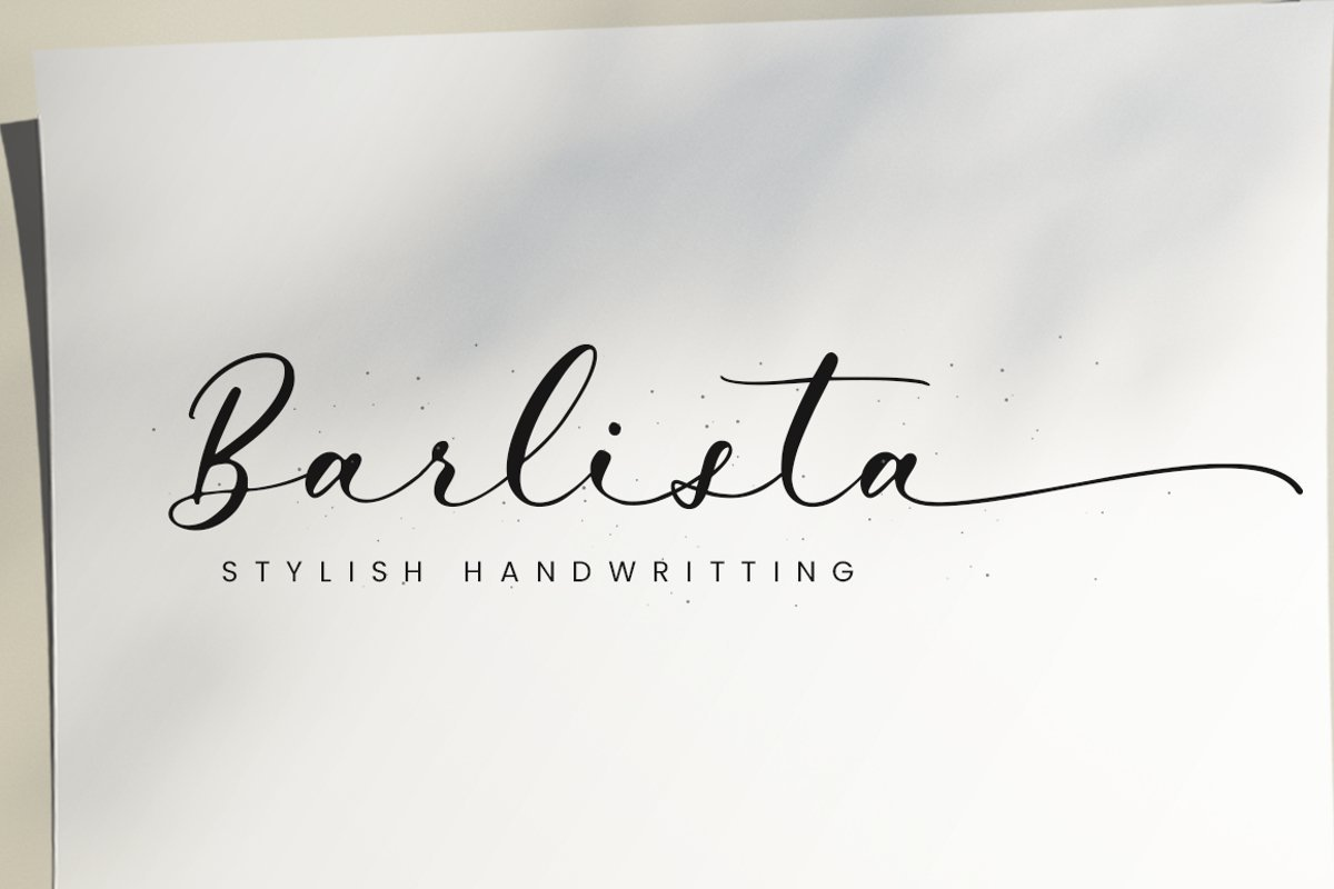 Barlista-Stylish-Handwritten-Script-Font