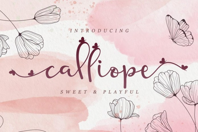 Calliope-Modern-Calligraphy-Script-Font