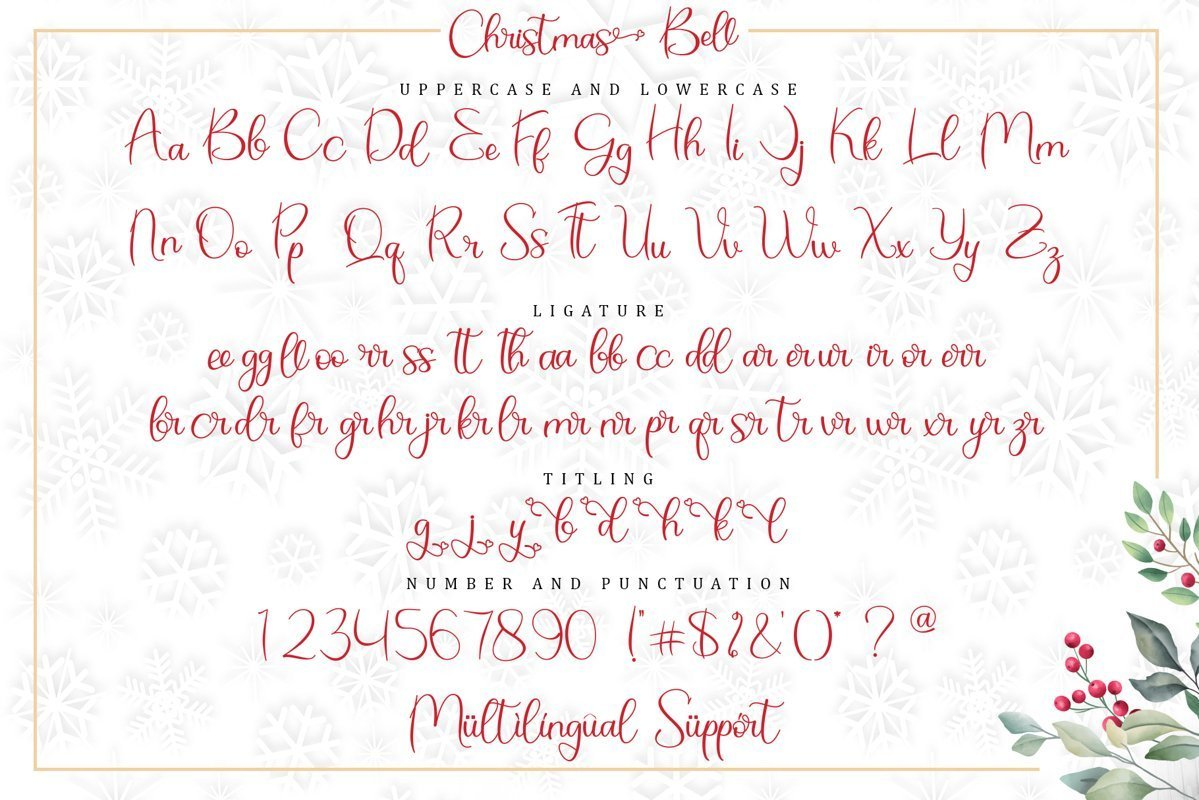 Christmas-Bell-Calligraphy-Script-Font-3