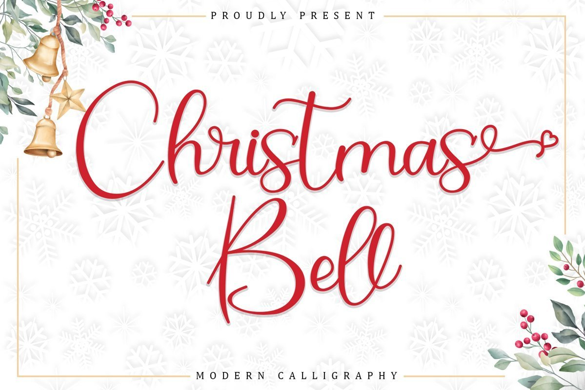 Christmas-Bell-Calligraphy-Script-Font