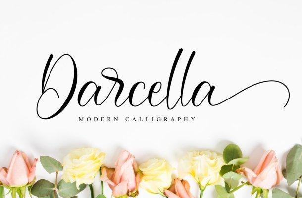 Darcella Calligraphy Script Font
