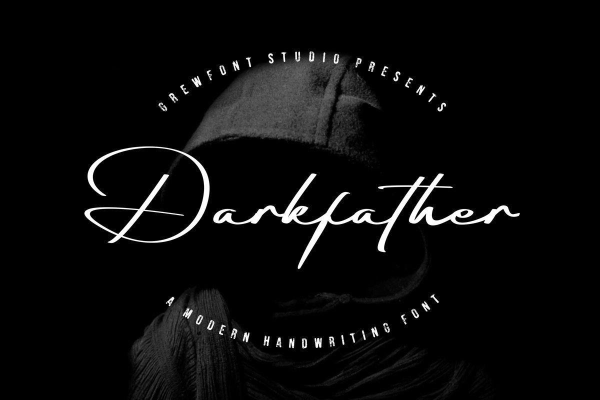 Darkfather-Handwritten-Signature-Font