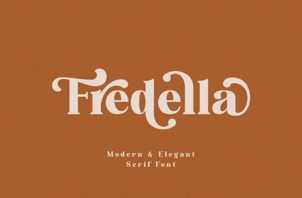 Fredella Elegant Serif Font
