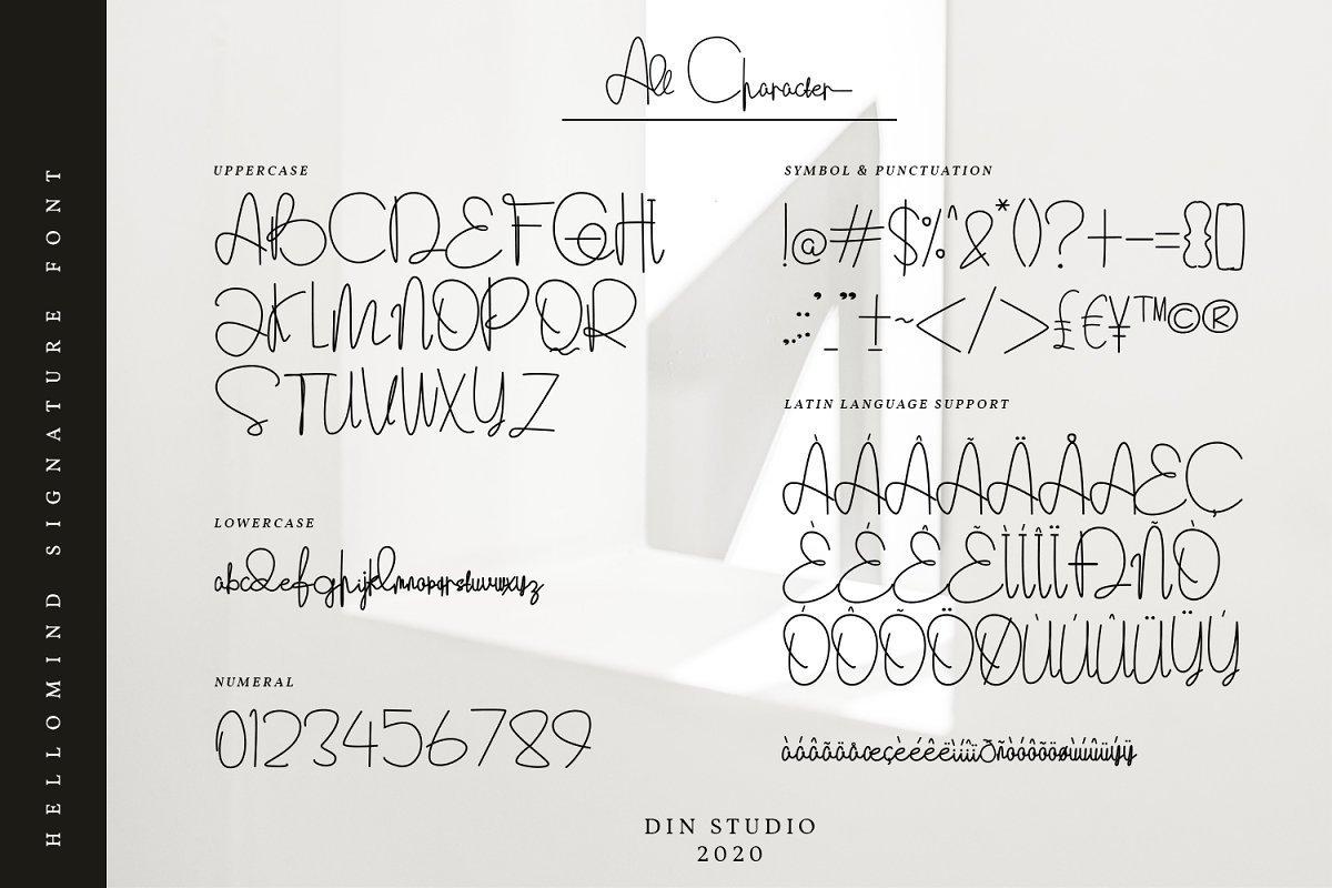 Hellomind-Signature-Script-Font-3