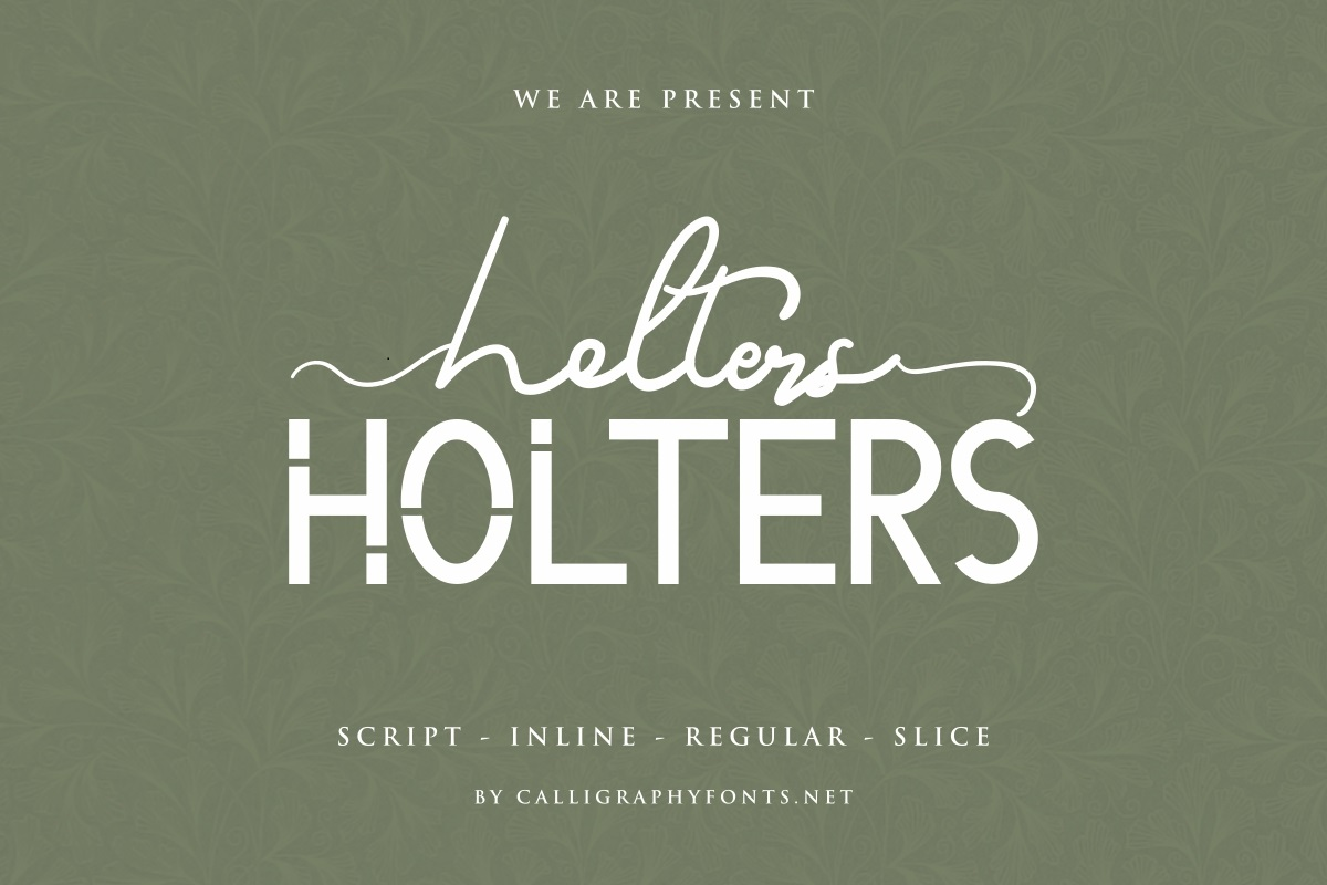 Holters-Font-Duo