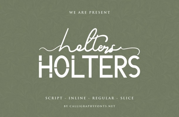 Holters Font Duo