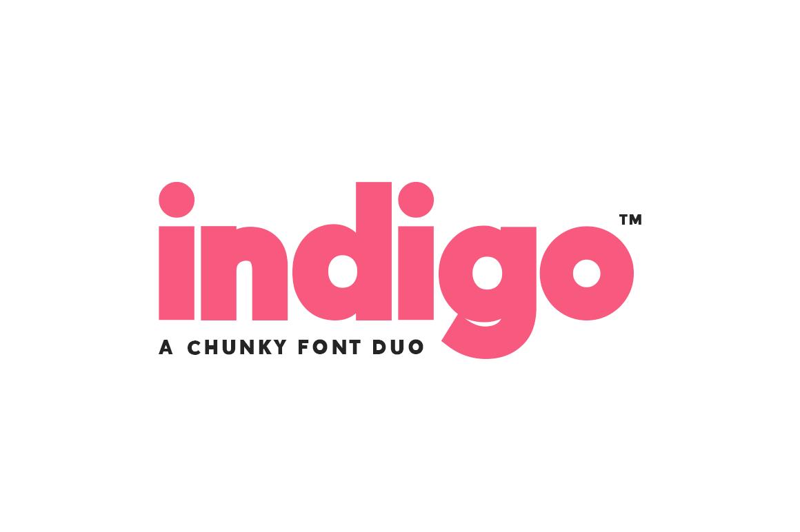 Indigo-Sans-Duo-Font