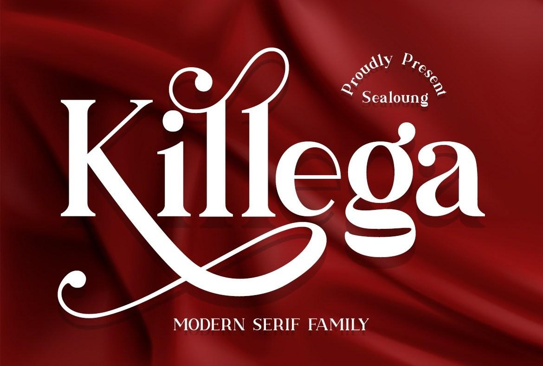 Killega-Modern-Serif-Typeface