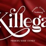 Killega Modern Serif Typeface