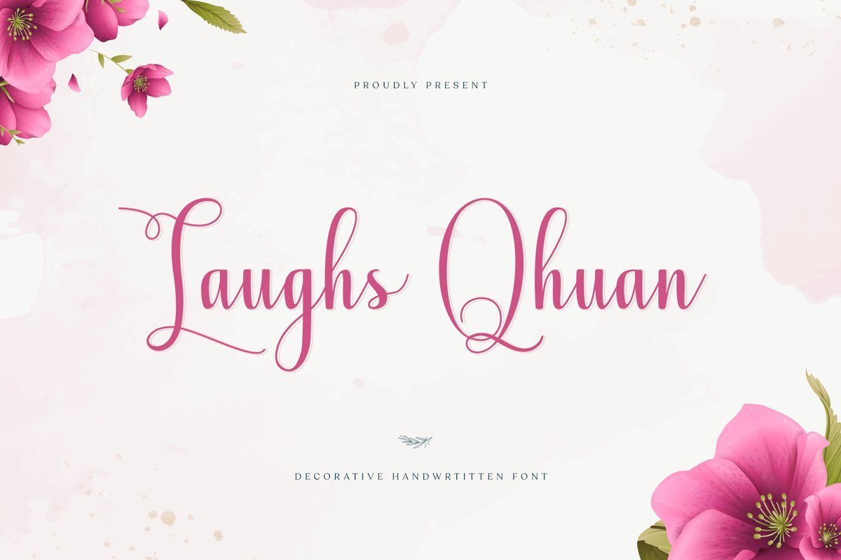 Laughs-Qhuan-Calligraphy-Script-Font