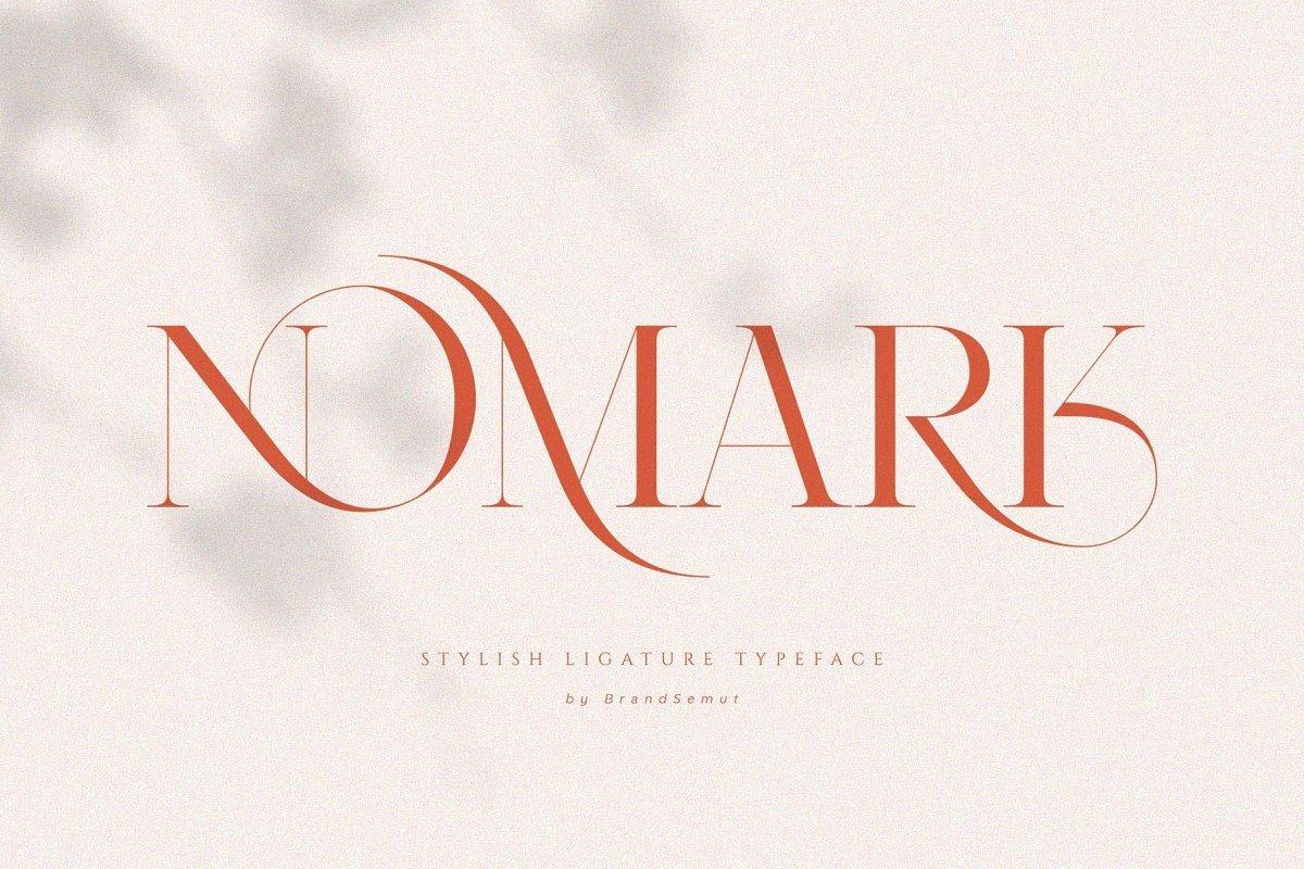 Nomark-Serif-Ligature-Typeface
