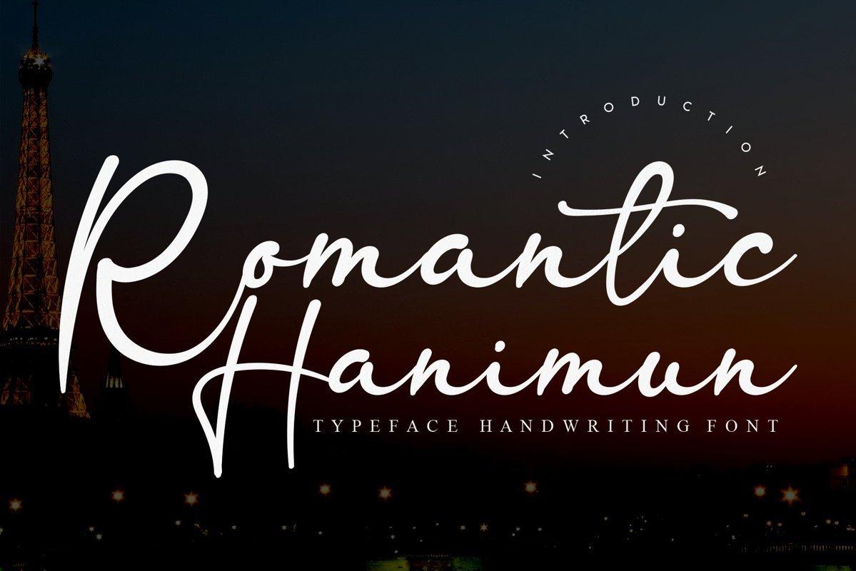 Romantic-Hanimun-Handwritten-Script-Font
