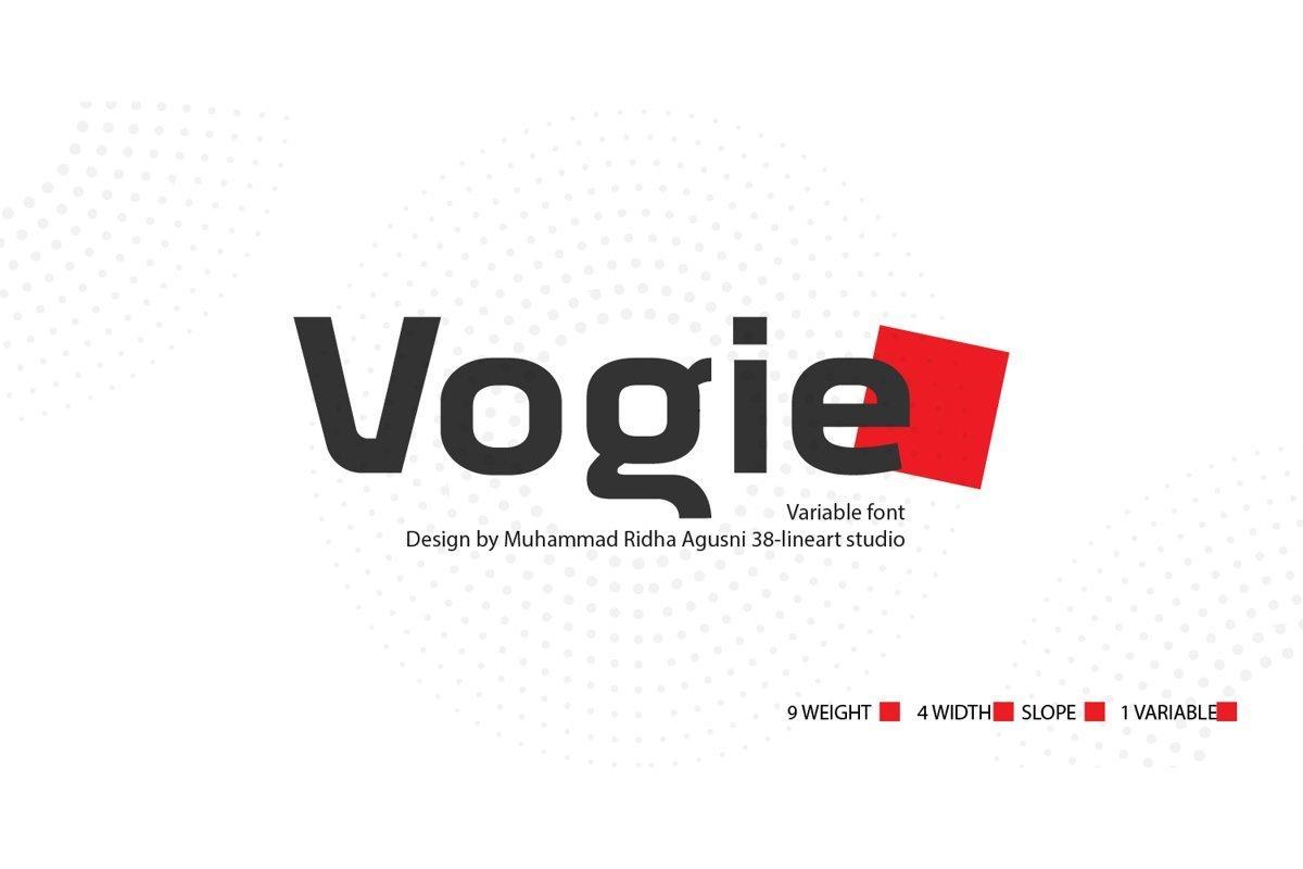 Vogie-Sporty-Sans-Serif-Font