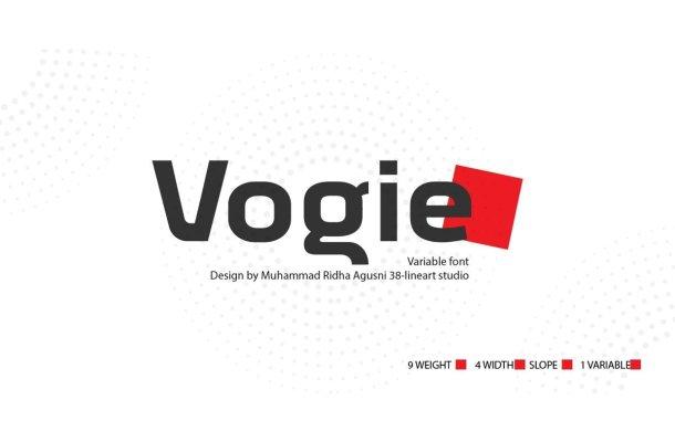 Vogie Sporty Sans Serif Font