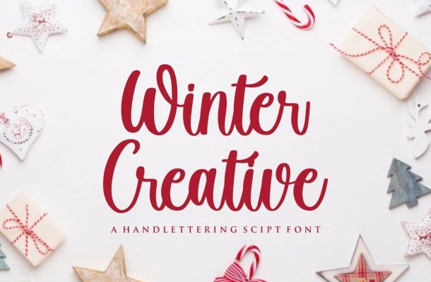Winter Creative Handwritten Script Font