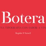 Botera Free Serif Typeface