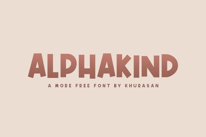 Alphakind-Font
