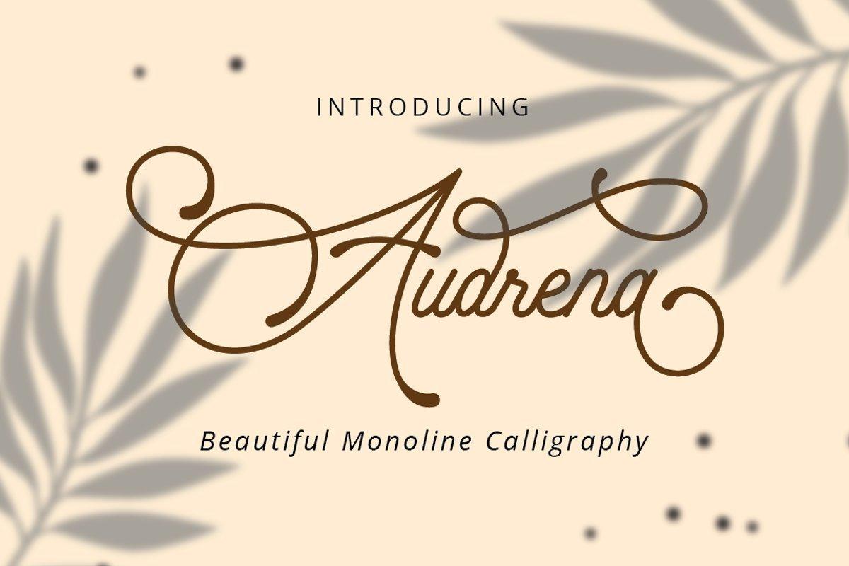 Audrena-Font