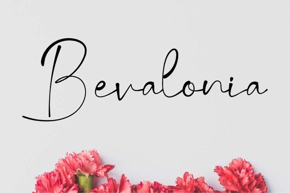 Bevalonia-Font