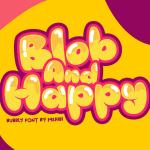 Blob And Happy Font