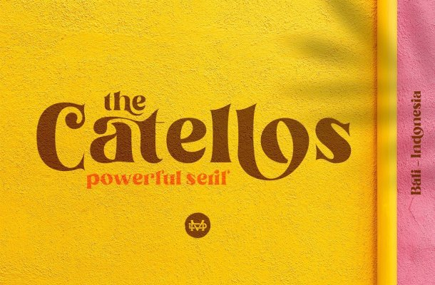 Catellos Powerful Font