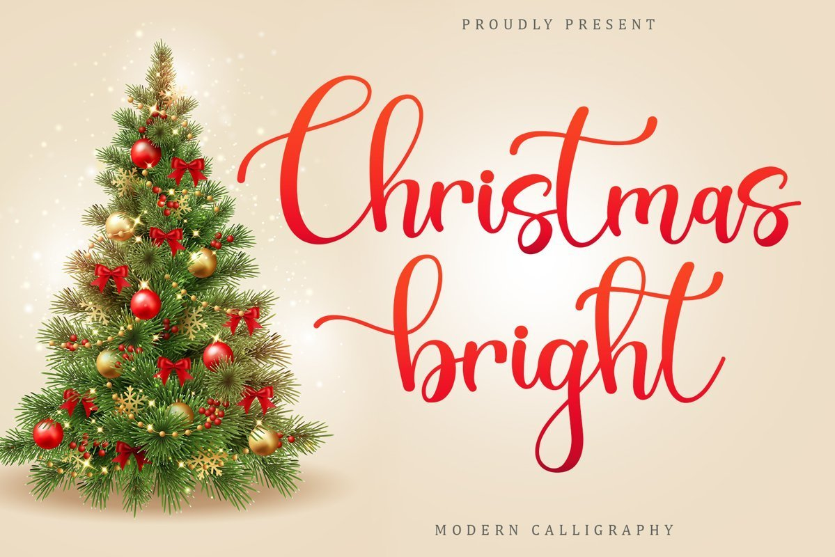 Christmas-Bright-Font