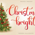 Christmas Bright Font