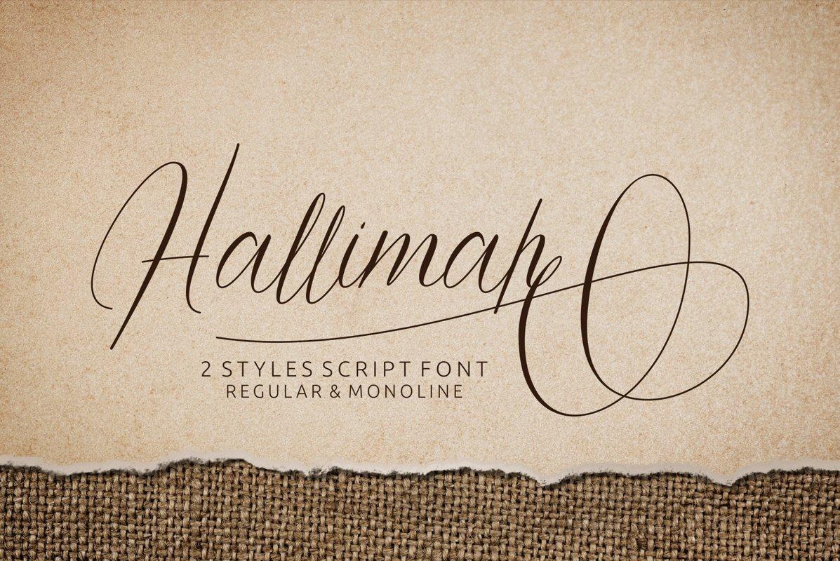Hallimah-Font