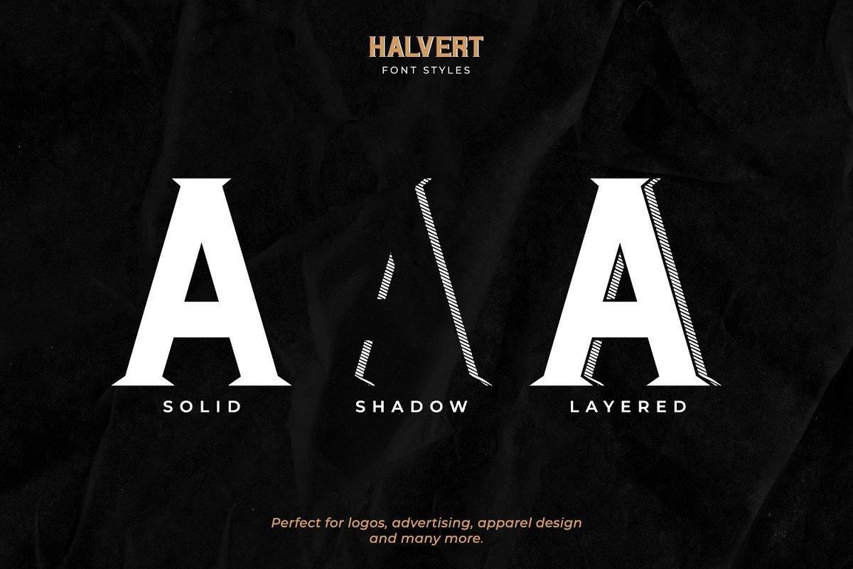 Halvert-Layered-Display-Font-2