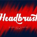 Headbrush Font