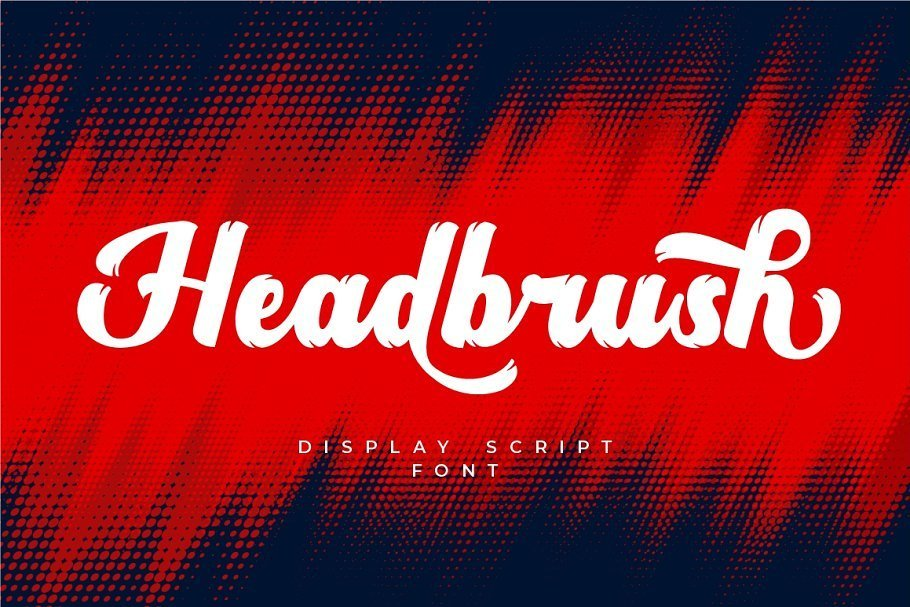 Headbrush-Script-Font