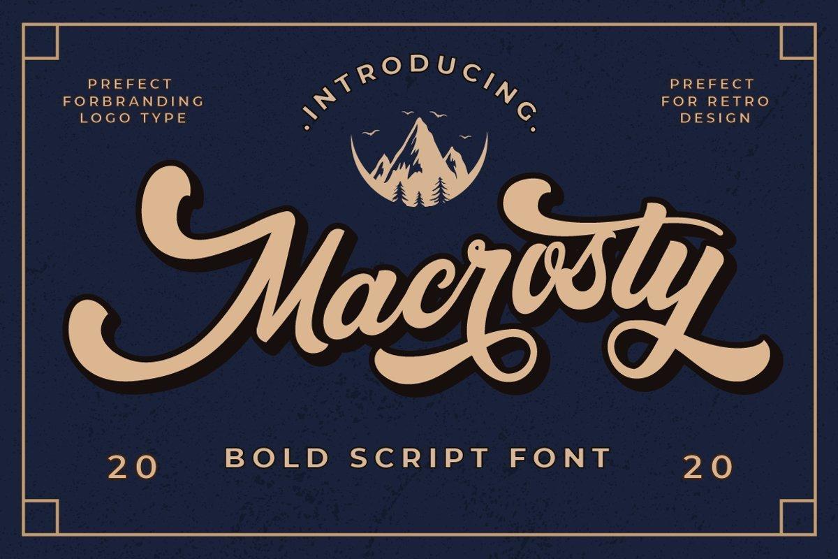 Macrosty-Font