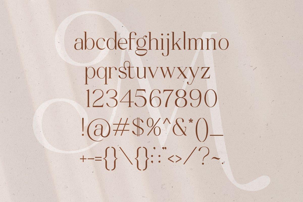 Mitchaella-Unique-Luxury-Serif-Typeface-3