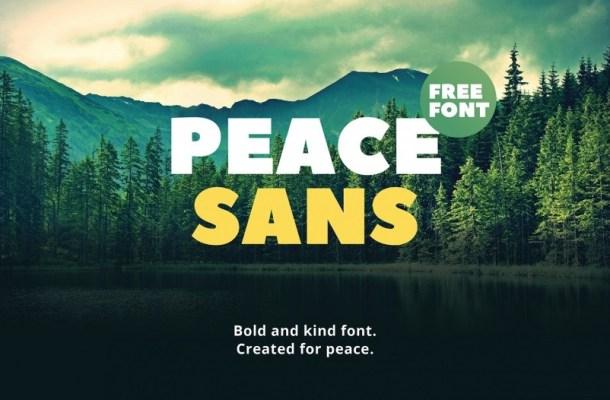 Peace Typeface