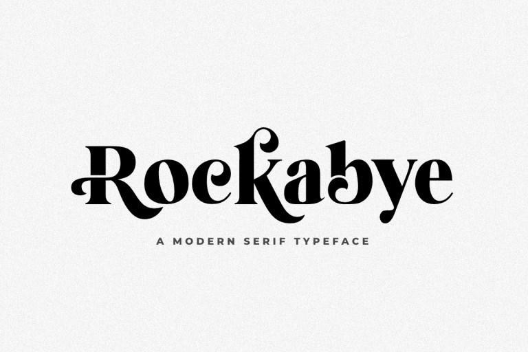 Rockabye-Font