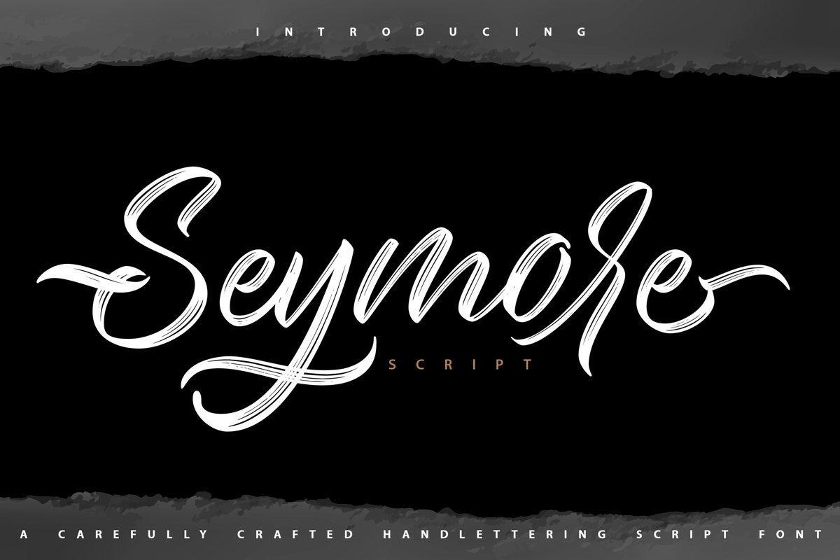 Seymore-Font