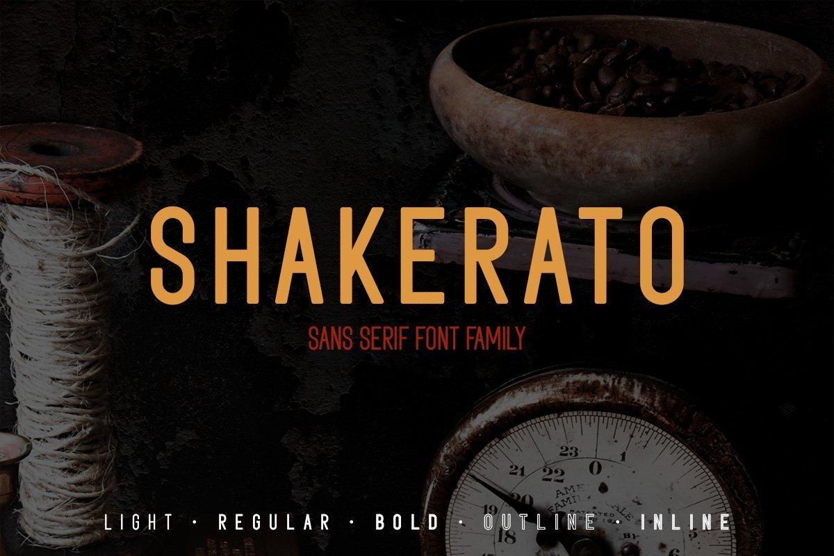 Shakerato-Font