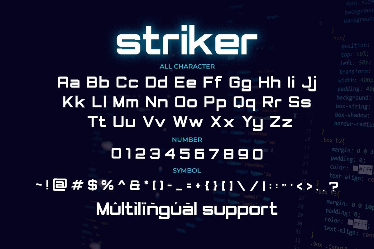 Striker-Modern-Sans-Display-Font-3